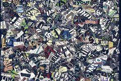 p130302-8 cikkszámú tapéta.Absztrakt,feliratos-számos,különleges motívumos,rajzolt,retro,barna,fehér,fekete,kék,lila,sárga,szürke,zöld,gyengén mosható,vlies poszter, fotótapéta