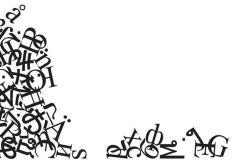 p130402-9 cikkszámú tapéta.Feliratos-számos,fotórealisztikus,gyerek,rajzolt,retro,fehér,fekete,gyengén mosható,vlies poszter, fotótapéta