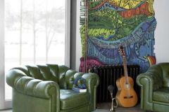p131201-4 cikkszámú tapéta.Csíkos,feliratos-számos,gyerek,különleges motívumos,rajzolt,retro,absztrakt,barna,kék,lila,narancs-terrakotta,pink-rózsaszín,piros-bordó,sárga,zöld,gyengén mosható,vlies poszter, fotótapéta