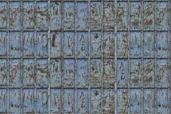 p131701-9 cikkszámú tapéta.3d hatású,fotórealisztikus,különleges motívumos,metál-fényes,retro,barna,kék,gyengén mosható,vlies poszter, fotótapéta