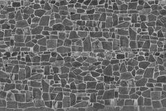 p131802-9 cikkszámú tapéta.Kockás,kőhatású-kőmintás,retro,szürke,gyengén mosható,vlies poszter, fotótapéta