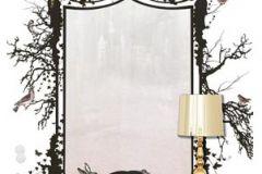 P010201-4 cikkszámú tapéta.Fa hatású-fa mintás,rajzolt,retro,természeti mintás,fehér,fekete,pink-rózsaszín,gyengén mosható,vlies poszter, fotótapéta