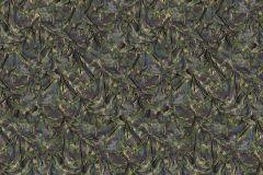 P190701-8 cikkszámú tapéta.3d hatású,absztrakt,fotórealisztikus,gyerek,különleges motívumos,retro,textil hatású,textilmintás,barna,fekete,sárga,zöld,gyengén mosható,vlies poszter, fotótapéta