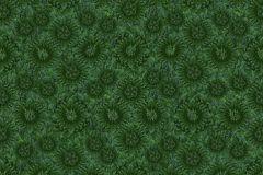 P190801-4 cikkszámú tapéta.Absztrakt,geometriai mintás,különleges motívumos,virágmintás,fekete,zöld,gyengén mosható,vlies poszter, fotótapéta