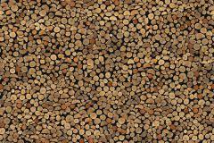 P190901-5 cikkszámú tapéta.Fa hatású-fa mintás,különleges motívumos,fotórealisztikus,fekete,barna,bézs-drapp,gyengén mosható,vlies poszter, fotótapéta