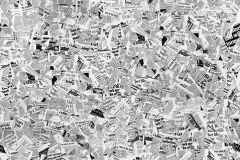 P191901-4 cikkszámú tapéta.Feliratos-számos,fotórealisztikus,retro,fehér,fekete,gyengén mosható,vlies poszter, fotótapéta