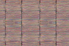 P192401-8 cikkszámú tapéta.Csíkos,fotórealisztikus,geometriai mintás,rajzolt,retro,textil hatású,textilmintás,fekete,kék,piros-bordó,sárga,gyengén mosható,vlies poszter, fotótapéta