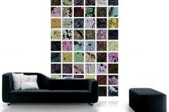 P111402-4 cikkszámú tapéta.Kockás,retro,gyerek,különleges motívumos,fotórealisztikus,fehér,szürke,fekete,kék,pink-rózsaszín,barna,zöld,gyengén mosható,vlies poszter, fotótapéta
