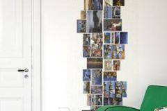 P112103-2 cikkszámú tapéta.Fotórealisztikus,gyerek,különleges motívumos,retro,tájkép,fehér,fekete,kék,narancs-terrakotta,gyengén mosható,vlies poszter, fotótapéta