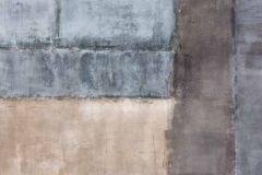 P150101-4 cikkszámú tapéta.Absztrakt,geometriai mintás,kockás,kőhatású-kőmintás,retro,barna,kék,gyengén mosható,vlies poszter, fotótapéta
