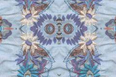 P140702-2 cikkszámú tapéta.3d hatású,absztrakt,barokk-klasszikus,fotórealisztikus,különleges motívumos,természeti mintás,virágmintás,kék,lila,sárga,gyengén mosható,vlies poszter, fotótapéta