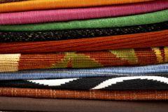 P141001-4 cikkszámú tapéta.Retro,fotórealisztikus,textilmintás,fehér,szürke,fekete,kék,barna,zöld,gyengén mosható,vlies poszter, fotótapéta
