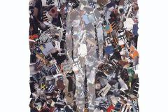 P141702-4 cikkszámú tapéta.Absztrakt,fotórealisztikus,különleges motívumos,rajzolt,retro,fehér,fekete,gyengén mosható,vlies poszter, fotótapéta