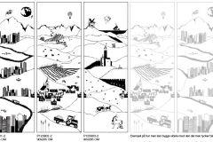 P120901-2 cikkszámú tapéta.Gyerek,különleges motívumos,rajzolt,retro,fehér,fekete,gyengén mosható,vlies poszter, fotótapéta