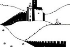 P120903-2 cikkszámú tapéta.Gyerek,különleges motívumos,rajzolt,fehér,fekete,gyengén mosható,vlies poszter, fotótapéta