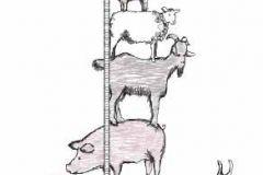 P121102-2 cikkszámú tapéta.állatok,gyerek,különleges motívumos,rajzolt,természeti mintás,barna,fehér,pink-rózsaszín,szürke,gyengén mosható,vlies poszter, fotótapéta