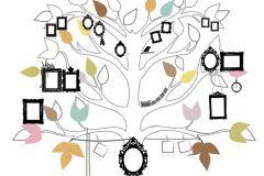 P121201-6 cikkszámú tapéta.Gyerek,különleges motívumos,rajzolt,természeti mintás,barna,fehér,fekete,zöld,gyengén mosható,vlies poszter, fotótapéta