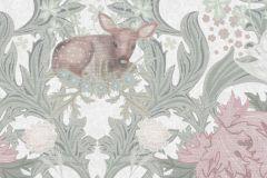 P280102-4 cikkszámú tapéta.állatok,gyerek,különleges motívumos,tájkép,természeti mintás,virágmintás,barna,fehér,szürke,lemosható,vlies poszter, fotótapéta