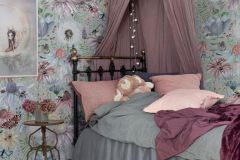 P280104-4 cikkszámú tapéta.állatok,gyerek,különleges motívumos,rajzolt,tájkép,természeti mintás,virágmintás,barna,bézs-drapp,fehér,kék,piros-bordó,sárga,lemosható,vlies poszter, fotótapéta