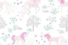 P280108-4 cikkszámú tapéta.állatok,különleges motívumos,rajzolt,természeti mintás,bézs-drapp,fehér,pink-rózsaszín,zöld,lemosható,vlies poszter, fotótapéta