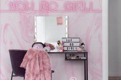 P280113-8 cikkszámú tapéta.Absztrakt,feliratos-számos,különleges motívumos,pink-rózsaszín,lemosható,vlies poszter, fotótapéta