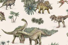 P280115-4 cikkszámú tapéta.állatok,gyerek,természeti mintás,bézs-drapp,zöld,lemosható,vlies poszter, fotótapéta