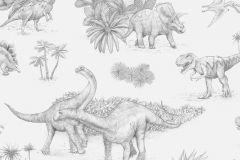 P280116-4 cikkszámú tapéta.állatok,gyerek,természeti mintás,fehér,fekete,szürke,lemosható,vlies poszter, fotótapéta