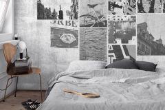 P280120-8 cikkszámú tapéta.Absztrakt,fotórealisztikus,különleges motívumos,fehér,fekete,szürke,lemosható,vlies poszter, fotótapéta