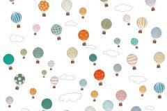 P181302-4 cikkszámú tapéta.Absztrakt,gyerek,különleges motívumos,pöttyös,rajzolt,retro,bézs-drapp,fehér,kék,piros-bordó,zöld,gyengén mosható,vlies poszter, fotótapéta