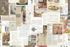 P160901-4 cikkszámú tapéta.Feliratos-számos,fotórealisztikus,fehér,barna,bézs-drapp,zöld,gyengén mosható,vlies poszter, fotótapéta