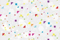 P161801-8 cikkszámú tapéta.Geometriai mintás,fehér,szürke,kék,lila,piros-bordó,zöld,gyengén mosható,vlies poszter, fotótapéta