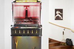 P162402-4 cikkszámú tapéta.Rajzolt,fekete,piros-bordó,barna,sárga,zöld,gyengén mosható,vlies poszter, fotótapéta