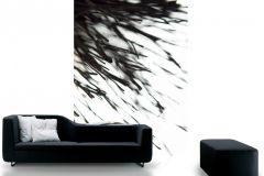 DM315-2 cikkszámú tapéta.3d hatású,fotórealisztikus,természeti mintás,fehér,fekete,gyengén mosható,vlies poszter, fotótapéta