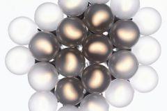 DM317-1 cikkszámú tapéta.3d hatású,geometriai mintás,gyerek,retro,arany,fehér,szürke,gyengén mosható,vlies poszter, fotótapéta