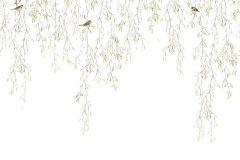P230101-8 cikkszámú tapéta.állatok,fotórealisztikus,gyerek,különleges motívumos,rajzolt,retro,természeti mintás,virágmintás,barna,fehér,zöld,gyengén mosható,vlies poszter, fotótapéta