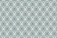 P230301-9 cikkszámú tapéta.Geometriai mintás,különleges motívumos,rajzolt,retro,kék,szürke,türkiz,zöld,gyengén mosható,vlies poszter, fotótapéta