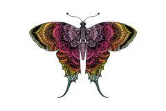 P200701-6 cikkszámú tapéta.állatok,különleges motívumos,rajzolt,retro,fehér,fekete,lila,pink-rózsaszín,piros-bordó,sárga,zöld,gyengén mosható,vlies poszter, fotótapéta