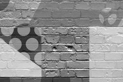 P202801-0 cikkszámú tapéta.Absztrakt,fotórealisztikus,rajzolt,retro,fehér,fekete,gyengén mosható,vlies poszter, fotótapéta