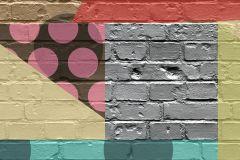 P202802-0 cikkszámú tapéta.Absztrakt,fotórealisztikus,metál-fényes,retro,barna,fehér,kék,lila,narancs-terrakotta,pink-rózsaszín,piros-bordó,sárga,szürke,zöld,gyengén mosható,vlies poszter, fotótapéta
