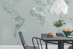 P111502-8 cikkszámú tapéta.Rajzolt,ezüst,kék,lemosható,vlies poszter, fotótapéta
