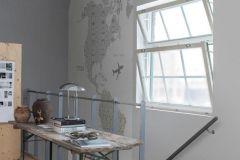 P120203-8 cikkszámú tapéta.Rajzolt,fehér,kék,szürke,lemosható,vlies poszter, fotótapéta