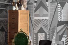 P270902-8 cikkszámú tapéta.Absztrakt,különleges felületű,különleges motívumos,fehér,fekete,szürke,lemosható,vlies poszter, fotótapéta