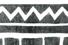 P271101-6 cikkszámú tapéta.Absztrakt,különleges motívumos,rajzolt,fehér,fekete,szürke,lemosható,vlies poszter, fotótapéta