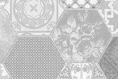 P271401-8 cikkszámú tapéta.Absztrakt,csipke,különleges felületű,különleges motívumos,fehér,fekete,szürke,lemosható,vlies poszter, fotótapéta
