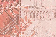 P272001-10 cikkszámú tapéta.Különleges felületű,különleges motívumos,rajzolt,barna,narancs-terrakotta,szürke,lemosható,vlies poszter, fotótapéta