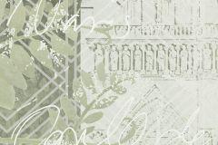 P272002-10 cikkszámú tapéta.Különleges felületű,különleges motívumos,rajzolt,szürke,zöld,lemosható,vlies poszter, fotótapéta