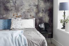 P250301-4 cikkszámú tapéta.Kőhatású-kőmintás,rajzolt,retro,fekete,sárga,szürke,vlies poszter, fotótapéta