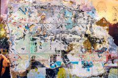 P251801-8 cikkszámú tapéta.Kőhatású-kőmintás,különleges motívumos,rajzolt,retro,bézs-drapp,kék,pink-rózsaszín,piros-bordó,szürke,zöld,vlies poszter, fotótapéta
