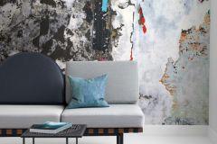 P251901-4 cikkszámú tapéta.Absztrakt,geometriai mintás,kőhatású-kőmintás,rajzolt,retro,természeti mintás,fehér,kék,piros-bordó,szürke,vlies poszter, fotótapéta