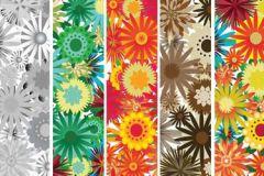 P031206-5 cikkszámú tapéta.Különleges motívumos,rajzolt,retro,természeti mintás,virágmintás,barna,bézs-drapp,piros-bordó,sárga,türkiz,zöld,gyengén mosható,vlies poszter, fotótapéta